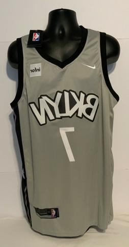 BROOKLYN NETS / Gray Jersey / #7 / NEW WITH TAGS / ADULT XL