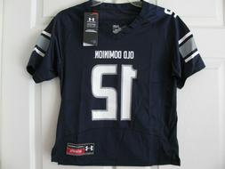 Under Armour Kids Jersey Shirt Small Old Dominion NCAA Footb