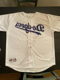 Los Angeles Dodgers Majestic Jersey Size L LARGE Home Jersey