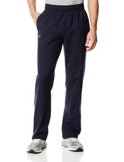 Champion Men's Authentic Open Bottom Jersey Pant, Small - Na